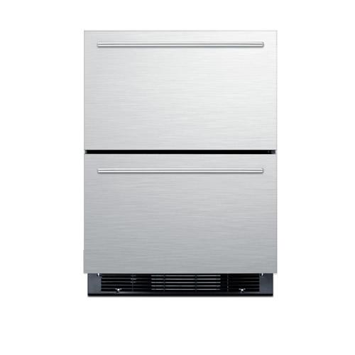 Summit Built-In Two Drawer Refrigerator/Freezer