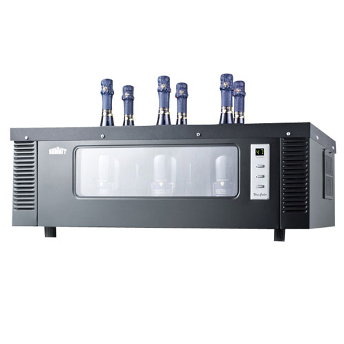 Summit 6 Bottle Countertop Wine Chiller