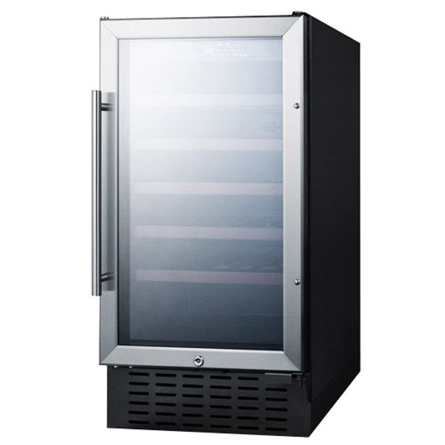 Summit 18 Inch Built-In Wine Cellar