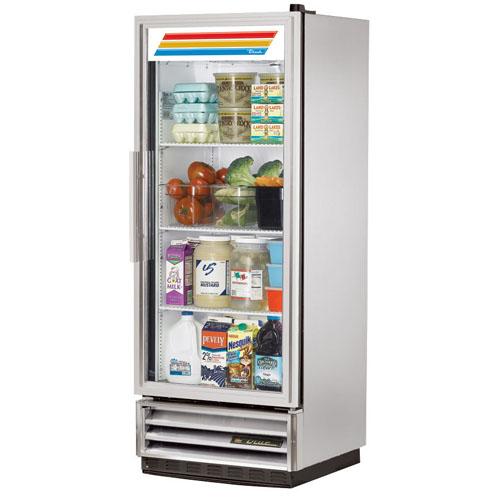 True T-Series 12 Cu. Ft. Reach-In Glass Swing Door Refrigerator