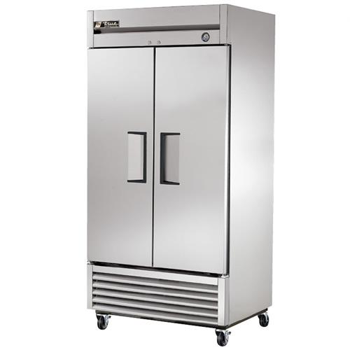 True 35 Cu. Ft. Reach-In Solid Dual Door Refrigerator