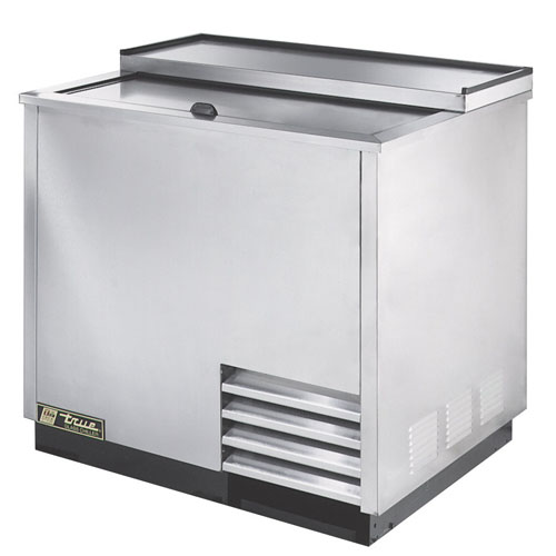 True 36  Stainless Glass and Plate Chiller