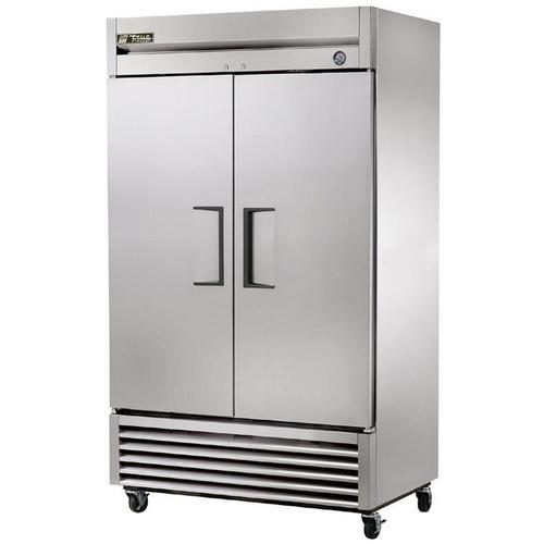 True 43 Cu. Ft. Reach- In Solid Dual Door Refrigerator