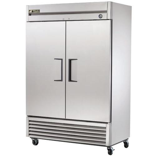 True 49 Cu. Ft. Reach- In Solid Dual Door Refrigerator