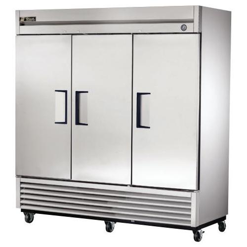 True 72 Cu. Ft. Reach- In Solid Triple Door Refrigerator
