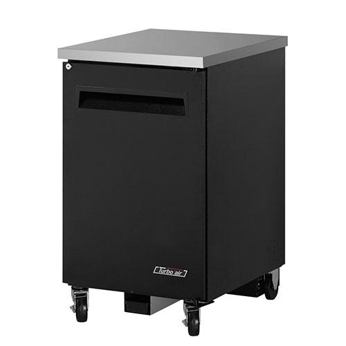 Turbo Air 24  Single Solid Door Back Bar Refrigerator