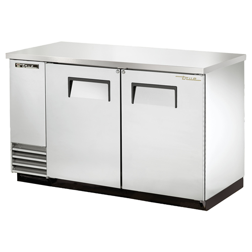 True 59 Inch Stainless Steel Back Bar Cooler