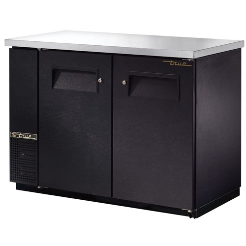 True 50 Inch Food Rated Back Bar Cooler