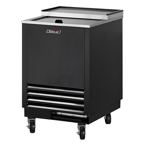 Turbo Air 24 Black Glass Froster