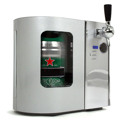 EdgeStar Deluxe Mini Kegerator & Draft Beer Dispenser
