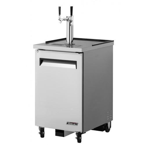 Turbo Air1 Keg Beer Dispenser Kegerator - Stainless