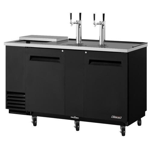 Turbo Air 3 Keg Beer Dispenser Club Top- Black