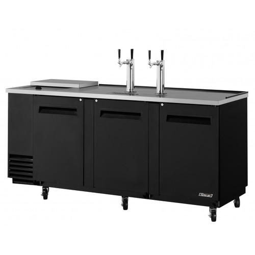 Turbo Air 4 Keg Beer Dispenser Club Top - Black