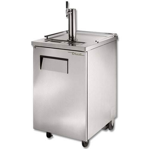 True Single Keg Stainless Steel Direct Draw Beer Dispenser