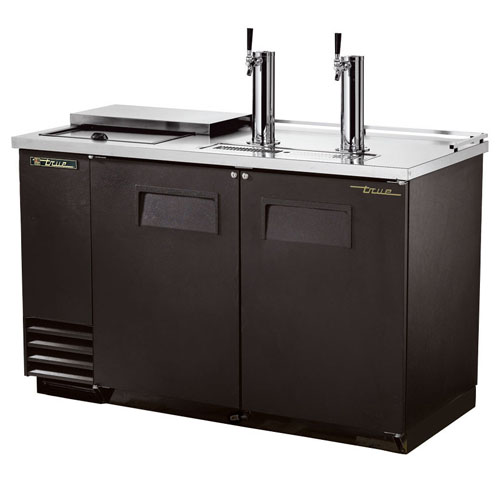 True 2 Keg Club Top Direct Draw Beer Dispenser