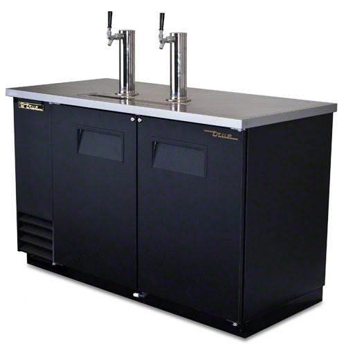 True 2 Keg Direct Draw Beer Dispenser