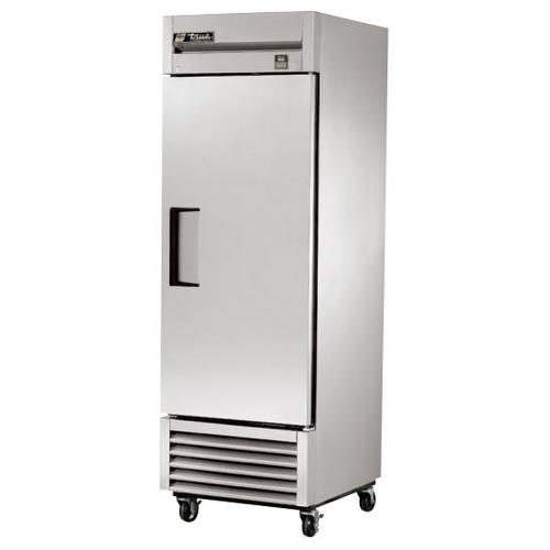True 23 Cu. Ft. Reach- In Solid Swing Door Stainless Steel Freezer