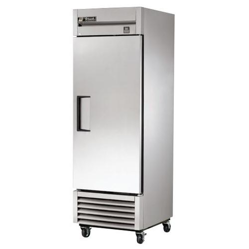 True 23 Cu. Ft. Reach- In Solid Swing Door Stainless Steel Refrigerator