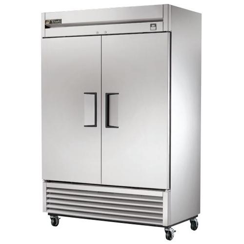 True 49 Cu. Ft. Reach-In Solid Dual Door Stainless Steel Refrigerator