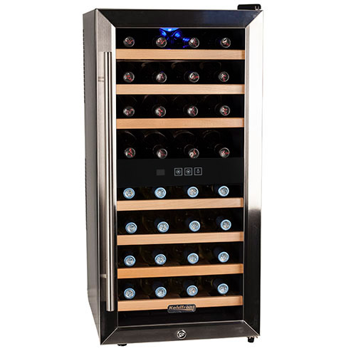 Koldfront 32 Bottle Single Zone Thermoelectric Wine Cooler