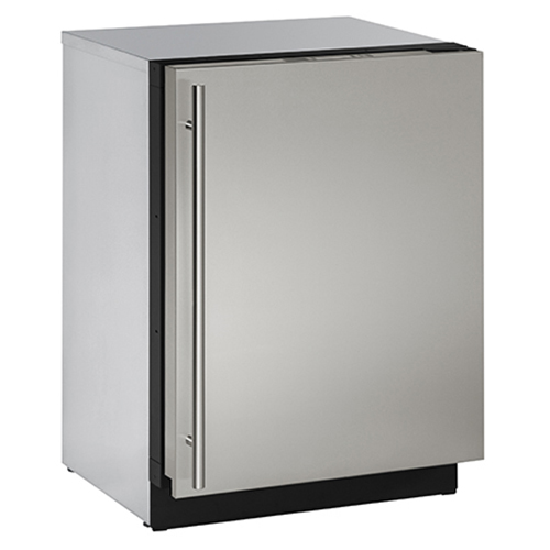 U-Line 24  Built-In Freezer feat. U-Select Control-Right Hinge