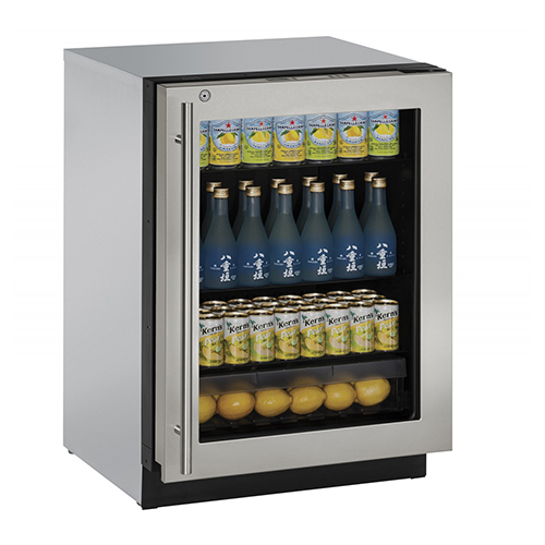 U-Line 24  Built-In Refrigerator with Lock-Right Hinge