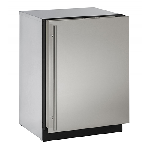 U-Line 24  Built-In Refrigerator feat. U-Select-Right Hinge