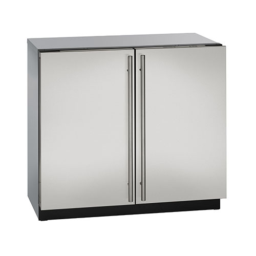 U-Line 36  Built-In Dual Zone Refrigerator feat. U-Select