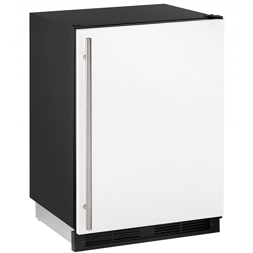 U-Line 24  Built-In Refrigerator with Ice Maker-White