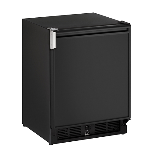 U-Line 21  ADA Built-In Refrigerator with Ice Maker-Black