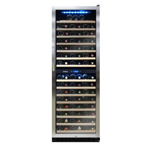Vinotemp 155 Bottle Dual Zone Wine Cooler