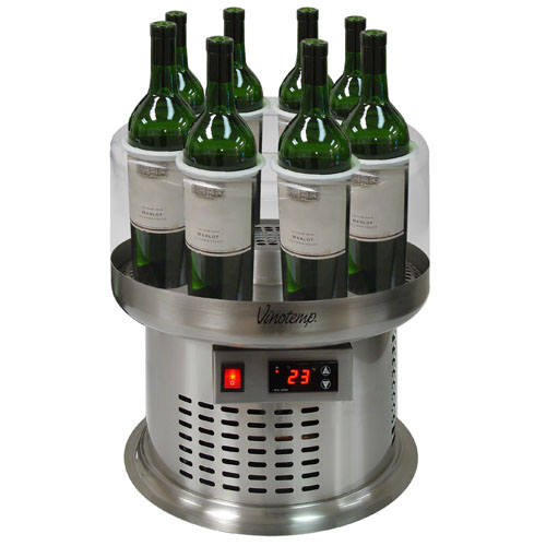 Vinotemp 8 Bottle Open Wine Cooler