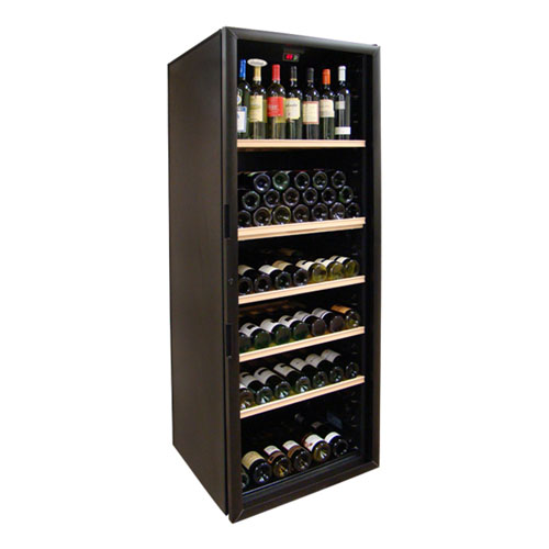 VinoCellier 267 Bottle Glass Door Wine Cabinet