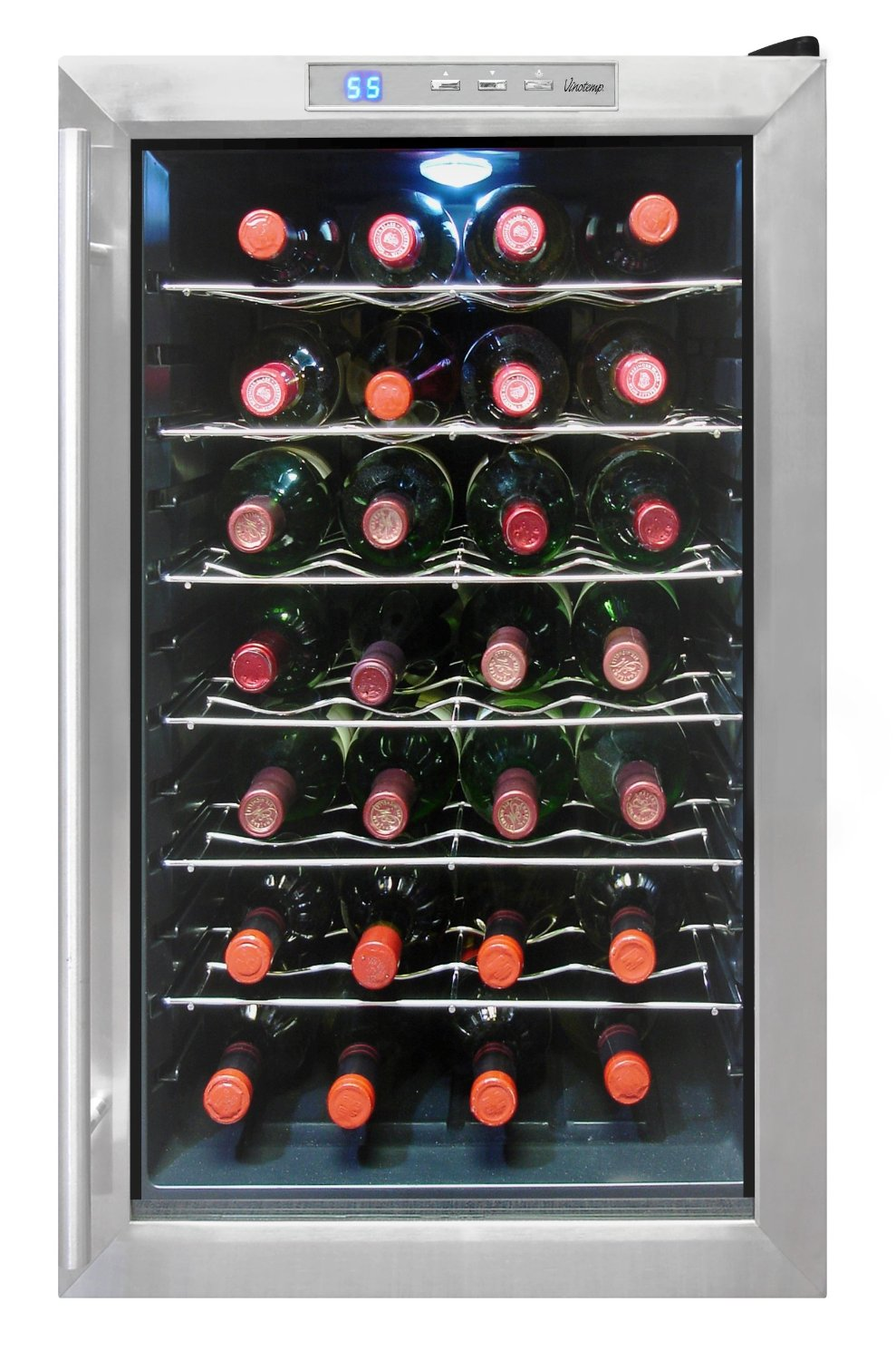 Vinotemp 28TEDS 28 Bottle Wine Cooler