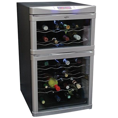 Koolatron 24 Bottle Dual Zone Wine Cooler