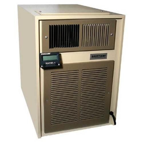 Breezaire Wine Cooler Unit w/ Sentinel II - 1000 Cu. Ft.