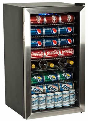 EdgeStar 118 Can Home Bar Refrigerator