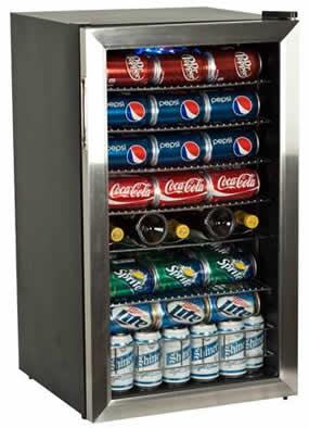 Edgestar 103 Can Home Bar Refrigerator